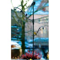 LUXUS-VOGELHAUS Futterspender, BxTxH: 86x1x100 cm