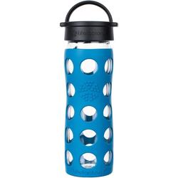 Lifefactory Trinkflasche blau