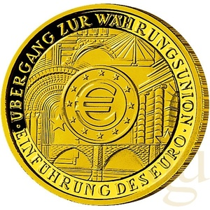 1/2 Unze Goldmünze - 100 Euro Einführung 2002 (A)