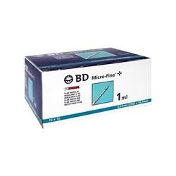 BD MICRO-FINE+ U 40 Insulin Spritze 12,7 mm