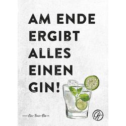 Gin Postkarte No.1