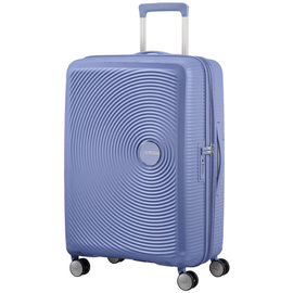 American Tourister Soundbox 4-Rollen 67 cm / 71,5-81 l denim blue