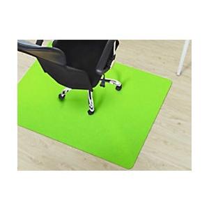 Bodenschutzmatte Floordirekt Pro Hartböden Hellgrün Polypropylen 750 x 1200 mm