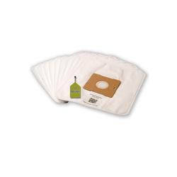 eVendix Staubsaugerbeutel Staubsaugerbeutel kompatibel mit SilverCrest SBSB 750 A1, 10 Staubbeutel + 1 Mikro-Filter, kompatibel mit SWIRL Y101, passend für SilverCrest