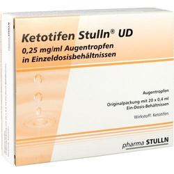 KETOTIFEN Stulln UD Augentropfen Einzeldosispip. 8 ml