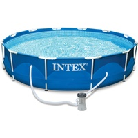 Intex Frame Pool Set 457 x 84 cm inkl. Kartuschenfilter