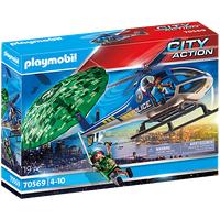 Playmobil City Action Polizei-Hubschrauber: Fallschirm-Verfolgung 70569