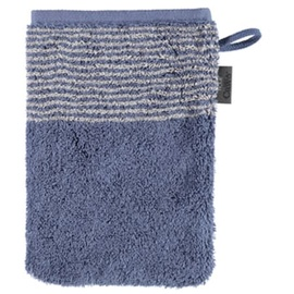 CAWÖ Luxury Home Two-Tone 590 Waschhandstuch 16 x 22 cm nachtblau
