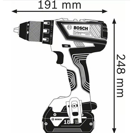 Bosch GSR 18V-28 Professional inkl. 2 x 4,0 Ah + L-Boxx 06019H410A