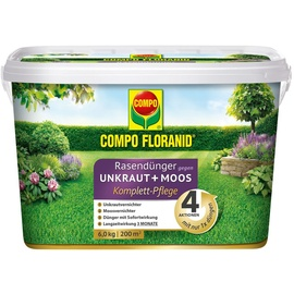 Compo Floranid Rasendünger Unkraut + Moos 6 kg