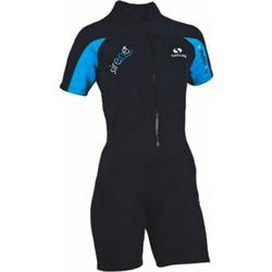 SALVAS Neopren Surf Anzug Shorty Kite Wakeboard Wasserski SUP Wet Suit Damen Größe: L