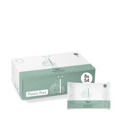 Naïf Feuchttücher Box Plastikfrei 8 x 54 Feuchttücher (432 Feuchttücher)