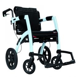 Rollz Motion 2 Rollator und Rollstuhl 2in1 island blue