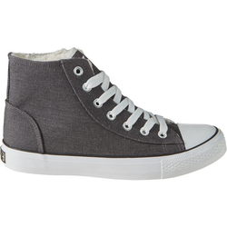 Schuh gefüttert, grau, Gr. 39 - 39 - grau