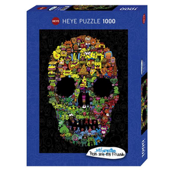 Doodle Skull Puzzle