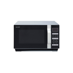 Sharp Mikrowelle R760S Mikrowelle mit Grill