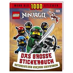 LEGO® NINJAGO® Das große Stickerbuch-Entdecke das Ninjago Universum
