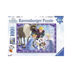 Ravensburger Puzzle Puzzle, 100 Teile XXL, 49x36 cm, Die Eiskönigin, Puzzleteile