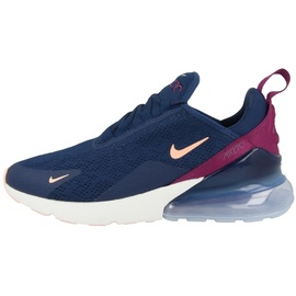 Nike Wmns Air Max 270 dark blue-bordeaux/ white-blue, 37.5