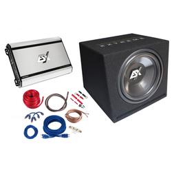 ESX HXP4 Subwoofer Endstufe Soundpaket