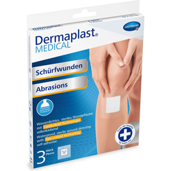 Dermaplast MEDICAL Wundpflaster mit Lipokolloidlage für Schürfwunden