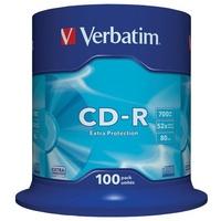 Verbatim CD-R 700MB 52x 100er Spindel