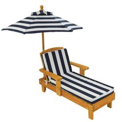 Kidkraft® Liegestuhl mit Sonnenschirm