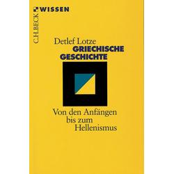 Griechische Geschichte: eBook von Detlef Lotze