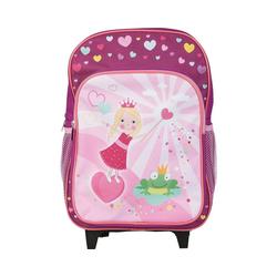 Idena Trolley Rucksacktrolley Pirat, 38 x 28 x 13,5 cm rosa
