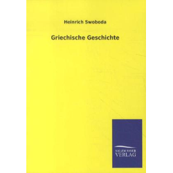 Griechische Geschichte: Buch von Heinrich Swoboda
