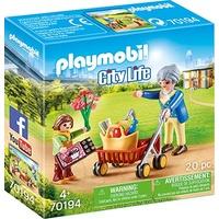 Playmobil City Life Oma mit Rollator (70194)