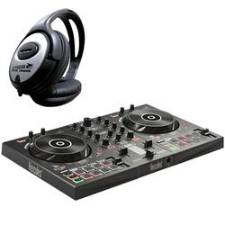 HERCULES Mischpult Hercules Inpulse 300 DJ Controller + Kopfhörer