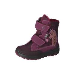 Ricosta Ricosta Kinder Blinker-Stiefel ANNIKA 72-9020600-382 merlot / weinrot Stiefel 25