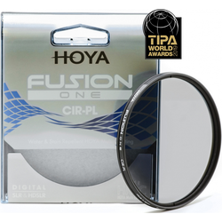 Hoya Fusion One CIR-PL Filter (49mm, Polarisationsfilter), Objektivfilter, Schwarz