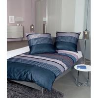 nachtschattenblau/korallrosa 135 x 200 cm + 80 x 80 cm