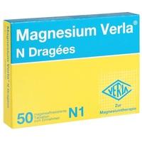 VERLA Magnesium Verla N Dragees