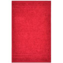 Dyckhoff Gästetuch ''Kristall'' Rot 30 x 50 cm