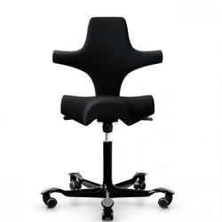 HAG Capisco 8106 Sattelstuhl Bürostuhl in Stoff Select schwarz