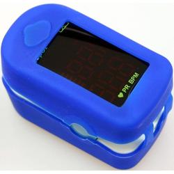 92324 Oximeter Messgerät, zum Ermitteln der Sauerstoffsättigung im Blut und der Pulsfrequenz, 50082725-0 weiß weiß