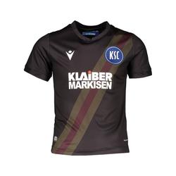 Macron Fußballtrikot Karlsruher SC Trikot 3rd 2020/2021 Kids JM (140)