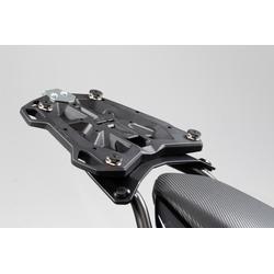 SW-Motech Adapterplaat voor STREET-RACK - Voor TRAX topcase ADV/ION/EVO. Zwarte., zwart, Eén maat