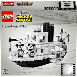 LEGO 21317 Ideas: Steamboat Willie mit Mickey und Minnie Mouse