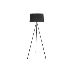 HOMCOM Stehlampe Tripod-Stehlampe schwarz