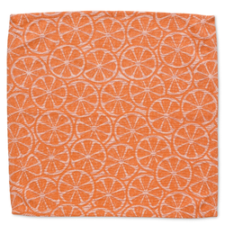 Serviette Citrus 100%Baumwolle orange 40,0x40,0cm