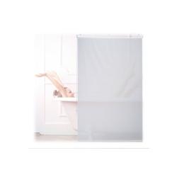 relaxdays Duschrollo Duschrollo weiß Breite 100 cm 100 cm x 240 cm