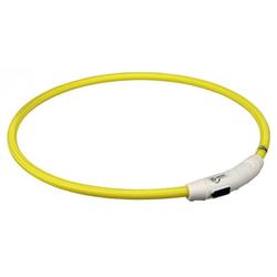 USB Flash Leuchtring - gelb