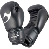 JU-SPORTS Boxhandschuhe Kinder schwarz