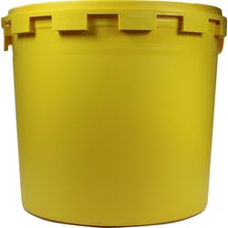 Kanüleneimer 5 l Gelb