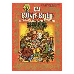 Das bunte Buch  m. 16 Bastelbögen - Buch