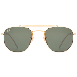 Ray Ban Marshal RB3648 001 51-21 polished gold/classic green